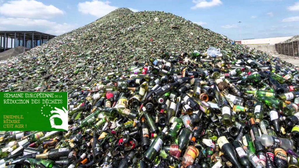 Reduire l'impact des dechets – bouteilles en verre 3