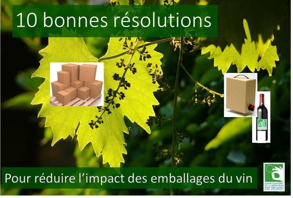 Reduire les emballages du vin