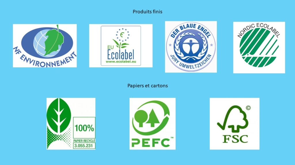 eco-labels emballages