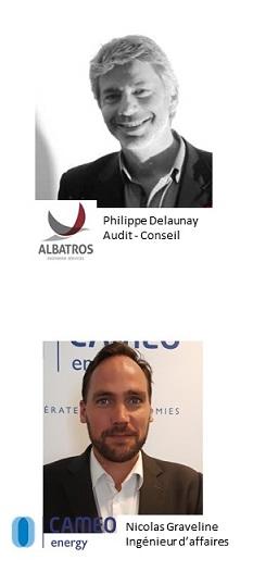 experts énergie Alabatros Ingénierie Services et Cameo Energy